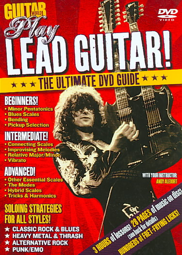 GUITAR WORLD:PLAY LEAD BY GUITAR WORLD (DVD)